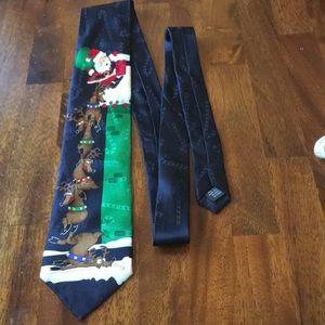 Christmas tie, funny holiday necktie